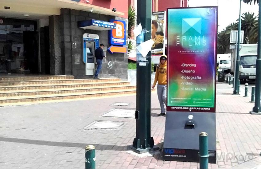 Paleta publicitaria - FRAME FILMS
