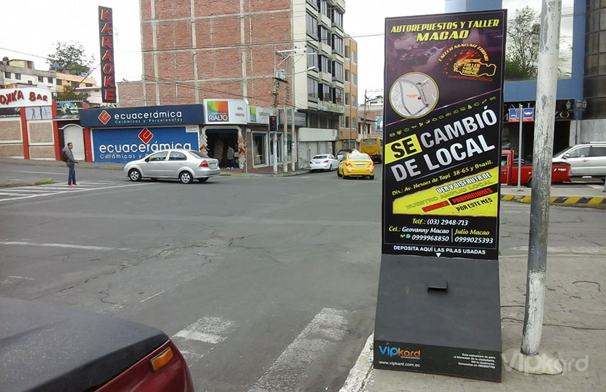 Paleta publicitaria - MACAO