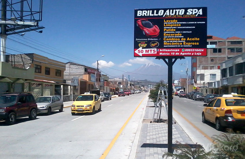 Rótulo vial - BRILLO AUTO SPA