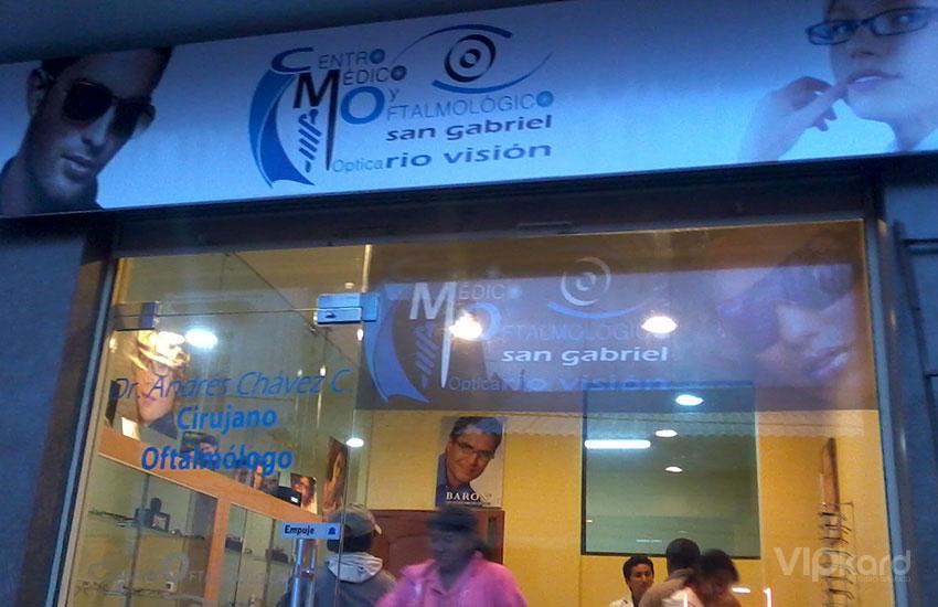 Rótulo publicitario - RIO VISIÓN