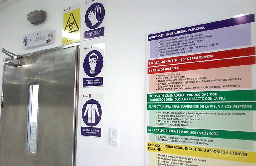 Señalética de seguridad INEN ISO - GADM RIOBAMBA