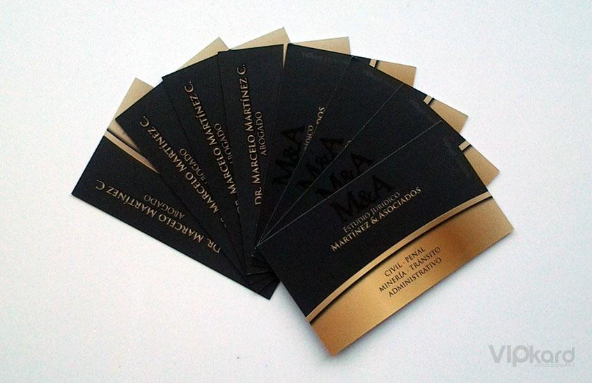 Tarjetas de presentación - ABOGADO MARTÍNEZ