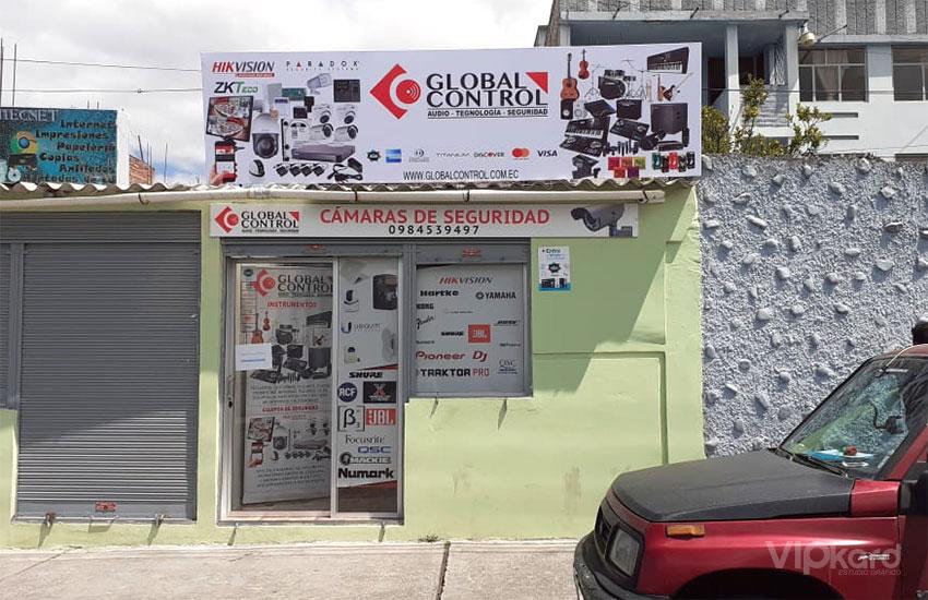 Rótulo publicitario - GLOBAL CONTROL